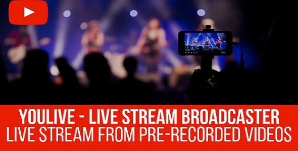 YouLive - Live Stream Broadcaster Plugin for WordPress - CodeCanyon Item for Sale