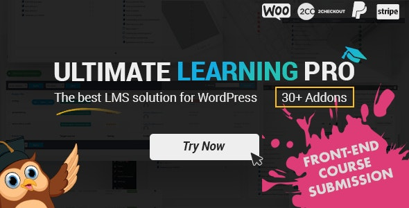 Ultimate Learning Pro WordPress Plugin - CodeCanyon Item for Sale