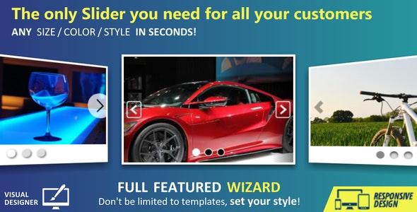 Custom SLIDER + Wizard - CodeCanyon Item for Sale
