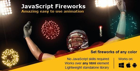 JavaScript Fireworks Animation - CodeCanyon Item for Sale