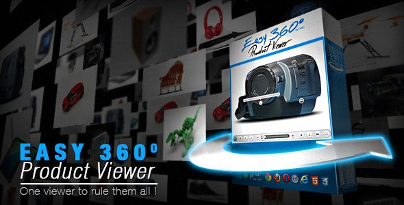 Easy 360° Product Viewer by FWDesign | CodeCanyon