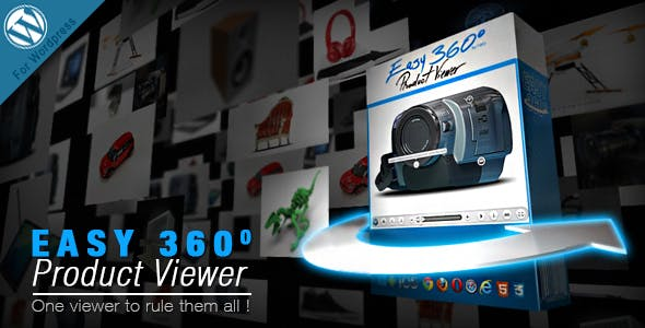 Easy 360° Product Viewer Wordpress Plugin