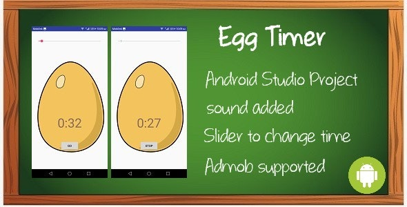 Egg Timer App - CodeCanyon Item for Sale