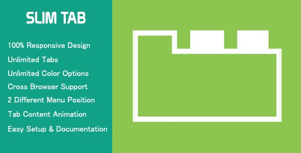 Slim Tab - Responsive WordPress Tabs plugin
