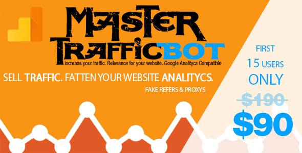 MASTER Traffic Bot # Sell web traffic and fatten your Analitycs!