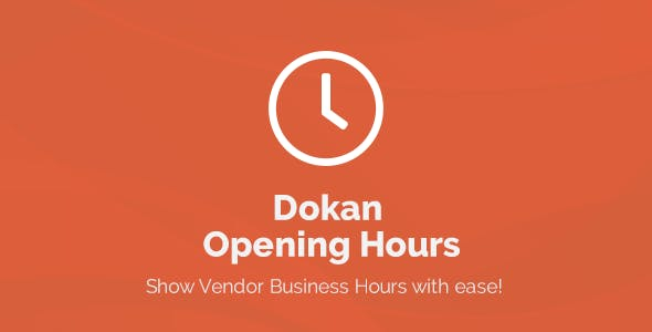 Dokan Business Hours