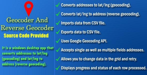 Geocoder and Reverse Geocoder - Source Code by NajmulIqbal15