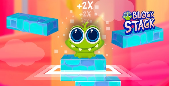 Block Stack Jump | Android Game | Cocos2D-X 3.16 | Android Studio - CodeCanyon Item for Sale