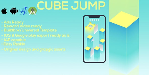 Cube Jump - CodeCanyon Item for Sale