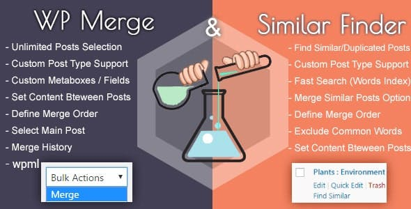 WP Merge + Similar Finder | Optimization & SEO Tool