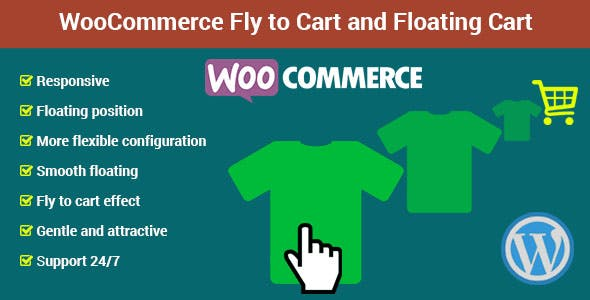 WooCommerce Fly to Cart and Floating Cart