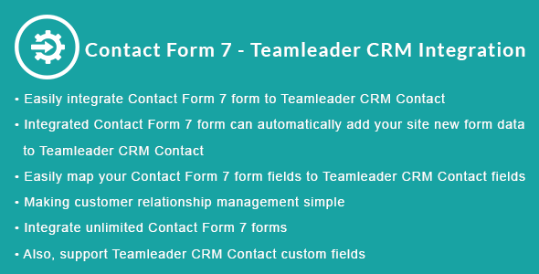 Contact Form 7 - Teamleader CRM Integration