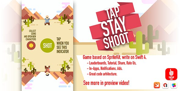 Tap Stay Shoot