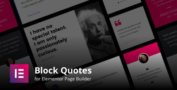 Blockquotes for Elementor Page Builder