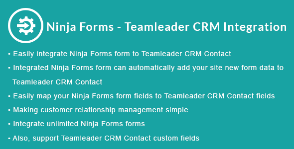 Ninja Forms - Teamleader CRM Integration