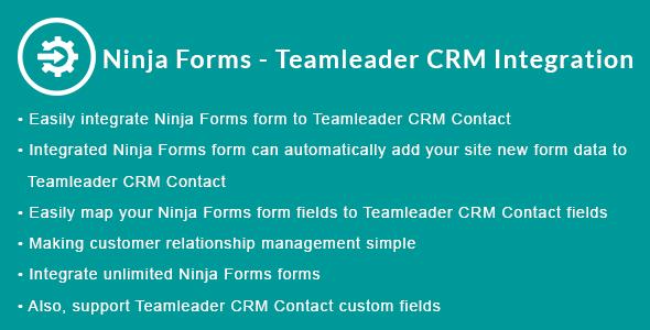 Ninja Forms - Teamleader CRM Integration - CodeCanyon Item for Sale