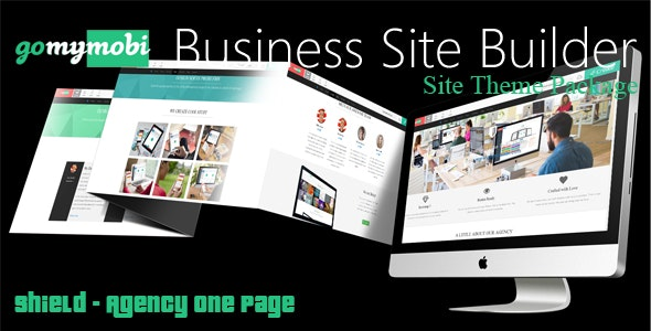 gomymobiBSB's Site Theme: Shield - Agency One Page - CodeCanyon Item for Sale