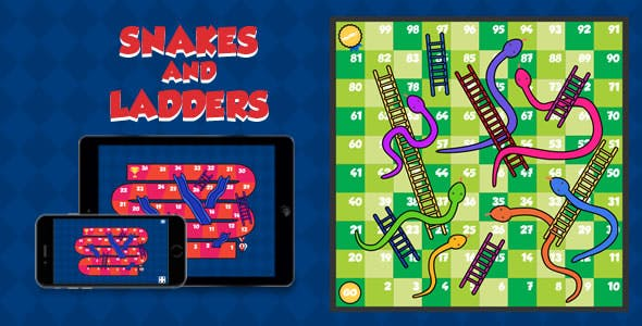 Snakes and Ladders - HTML5 Game