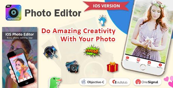 iOS Photo Editor