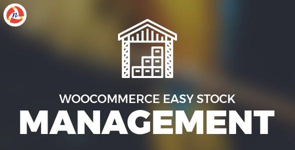 Woocommerce Easy Stock Management