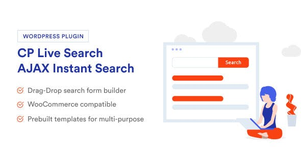 AJAX Search & Filter - CP Live Search - WordPress Search Engine Plugin