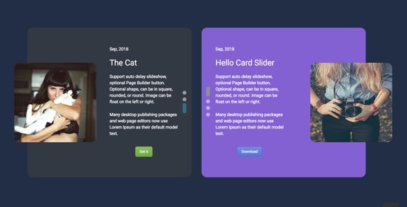 Card Slider - Addon for WPBakery Page Builder (formerly Visual Composer) - CodeCanyon Item for Sale