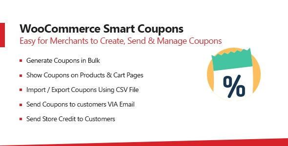 Woocommerce Smart Coupons - Extended Coupon Generator - CodeCanyon Item for Sale