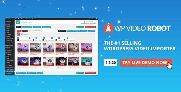 WordPress Video Robot - The Ultimate Video Importer        Nulled