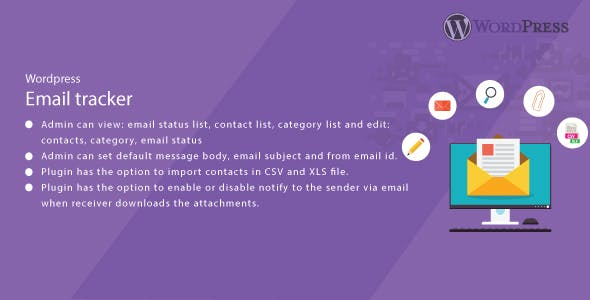 WordPress Email Tracker - CodeCanyon Item for Sale