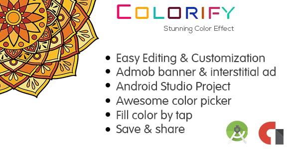 Colorify : Mandala Coloring Book