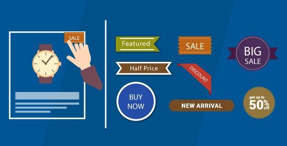 WordPress WooCommerce Badge Manager Plugin - CodeCanyon Item for Sale