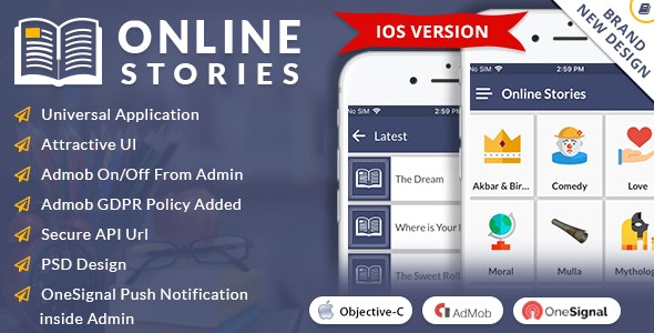 iOS Online Stories - CodeCanyon Item for Sale