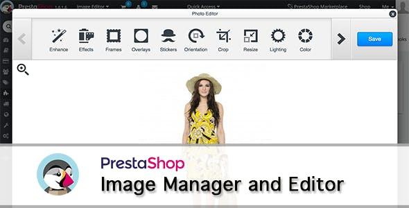 Prestashop Image Editor
