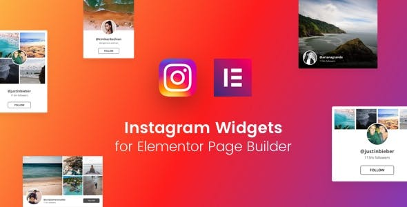 Instagram Widgets for Elementor Page Builder