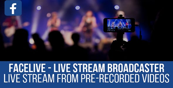 FaceLive - Live Stream Broadcaster Plugin for WordPress