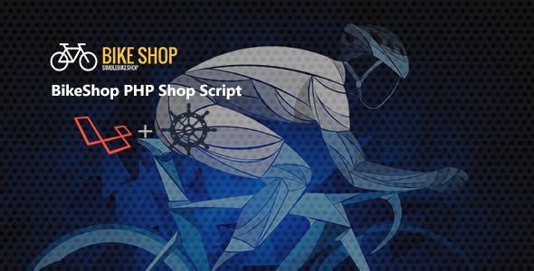 BikeShop PHP Shop Script