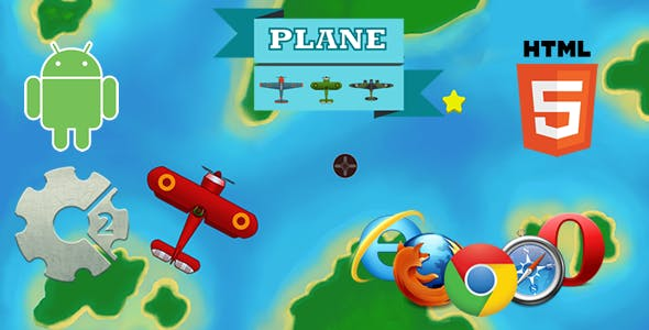 Plane HTML5 Game (CAPX)