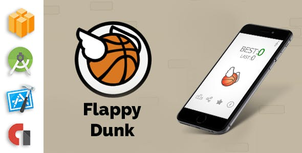 Flappy Dunk - Buildbox Template