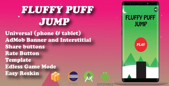 fluffy jump ( Android Studio + Eclipse + Admob + BBdoc )
