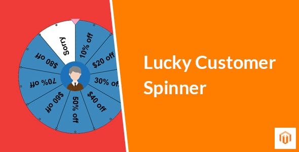 Lucky Customer Spinner