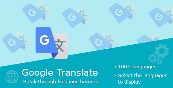 Google Translate Block for PrestaShop