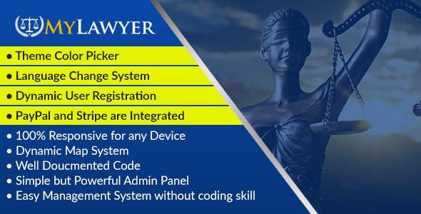 MyLawyer - Dynamic Lawyer Directory System Script - CodeCanyon Item for Sale
