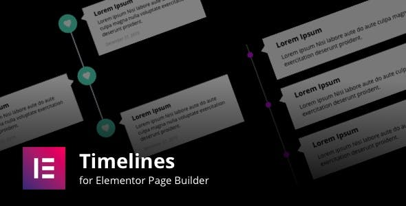Timelines for Elementor Page Builder