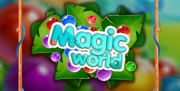 Magic world-bubble shooter construct2