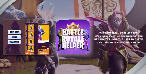 Fortnite Battle Royale Helper App - Unity App by ABP24 | CodeCanyon