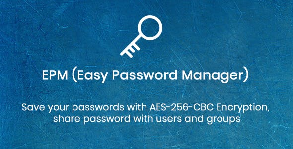EPM - Easy Password Manager