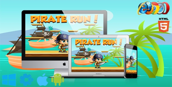 Pirate Run - CodeCanyon Item for Sale