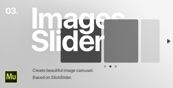 03 | Image Slider Widget for Adobe Muse CC