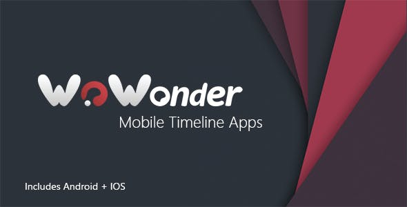 Mobile Native Social Timeline Applications - For WoWonder Social PHP Script        Nulled