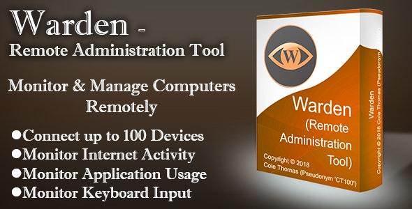 Warden - Remote Administration Tool - CodeCanyon Item for Sale